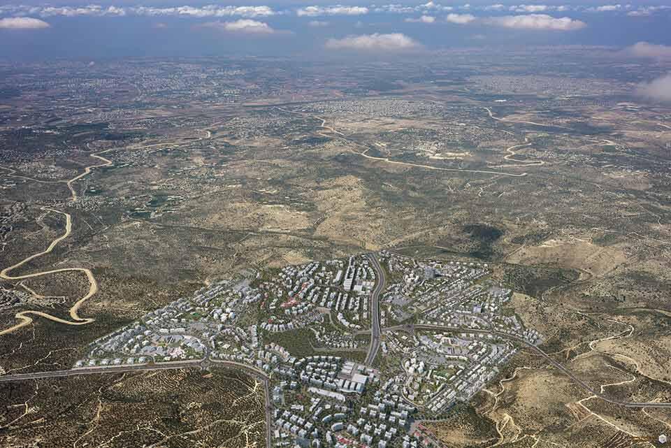 קרקעות של דורות עילית - עיר חרדית חדשה