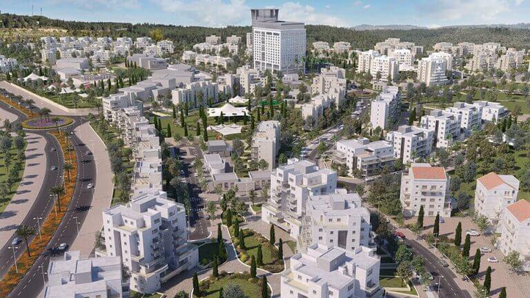 כך תראה העיר החרדית החדשה דורות עילית