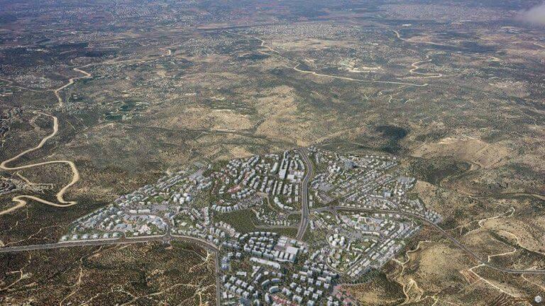 הקרקע של העיר העתידית דורות עילית